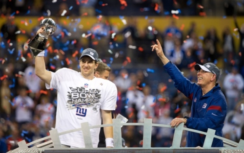 Maintaining his principles while adapting his tactics was one of the key coaching lessons that enabled Giants Head Coach, Tom Coughlin, to reach the pinnacle of his profession.